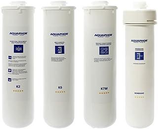 Aquaphor Water Filters Replacement Cartridges for Aquaphor RO-101 Reverse Osmosis System (K2 K5 K7M RO)