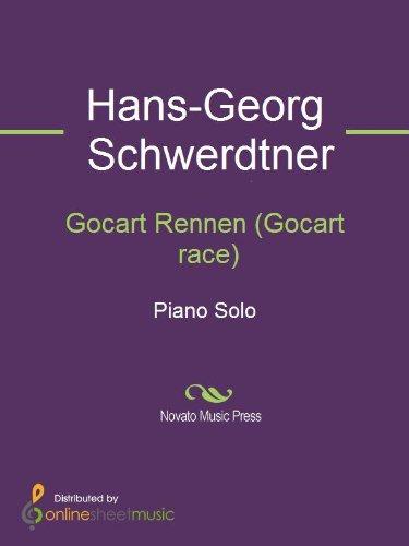 Gocart Rennen (Gocart race) - Piano (English Edition)