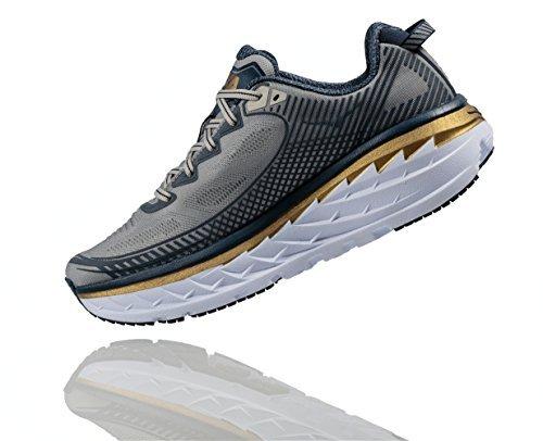 Hoka One One Mens Bondi 5 Running Shoe,  Cool...