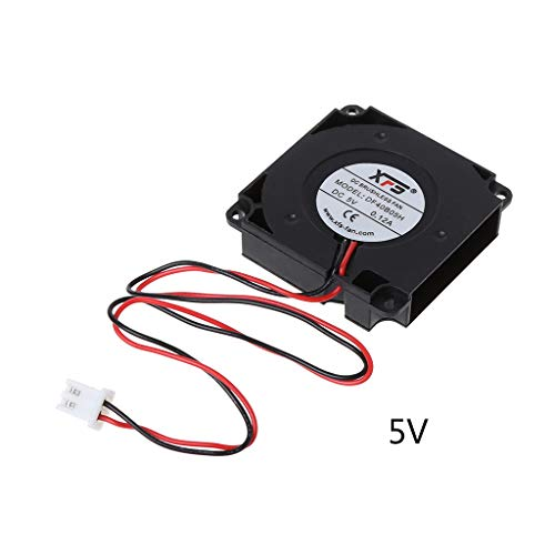 sheuiossry Cooling Fan Blower DC Turbo Ball Bearing 3D Printer Accessories Wire 5V 12V 24V