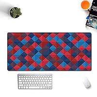 クリエイティブカレイドスコープシリーズマウスパッド大厚め汚れに強いコンピューターキーボードマット (400*600*3mm,A6)
