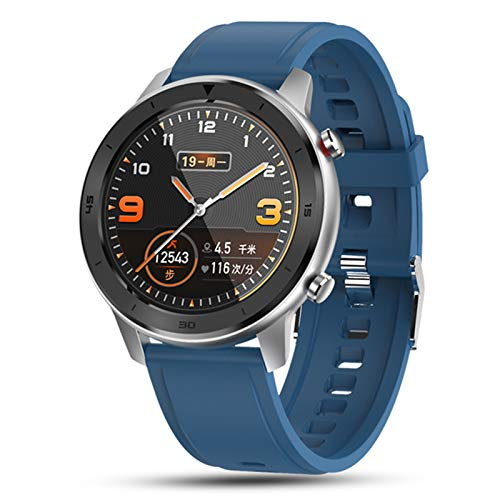 LXZ DT78 Smart Watch Men's Y Mujer Pulsera Fitness Activity Tracker Wearable Bluetooth Heart Rate Monitor Sports Watch para Android iOS,F