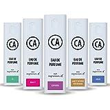 CA Perfume Modern Type Women Set Impression of (Si + Euphoria + Beauty + Angel + Guilty Intense) Fragrance Sample Travel Size Parfum Sprayer (0.3 Fl Oz/10 ml) x5