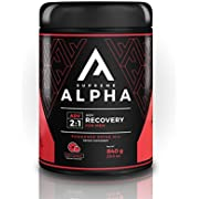 Supreme Alpha Advanced, Post Workout Recovery Supplement for Men, Muscle Builder, with Protein Powder and Carbohydrates, BCAAs, Glutamine, 15 Large Servings