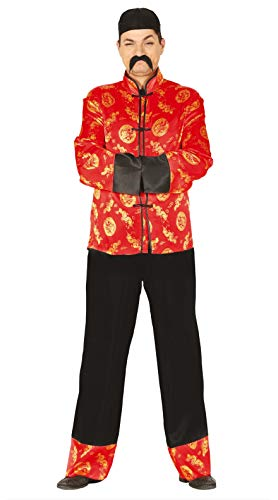 FIESTAS GUIRCA Disfraz Hombre Oriental Chino Mandarino Talla l