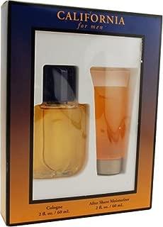 California By Dana For Men, Set-cologne 2-Ounce Bottle & Aftershave, Gel, 2-Ounce Bottle