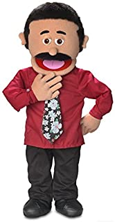 """30"""" Carlos, Hispanic Dad / Businessman, Professional Performance Puppet with Removable Legs, Full or Half Body"""