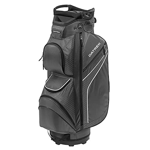 Datrek DG Lite II Cart Bag, Charcoal/Black/White Dots