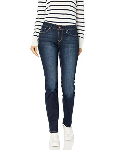 Signature by Levi Strauss & Co. Gold Label Women's Modern Straight Jeans, Cosmos, 6 Long