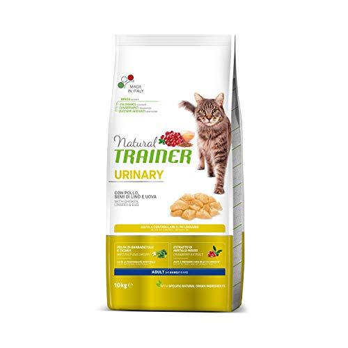 Natural Trainer Urinary - Cibo Per Gatti Adulti Con Problemi Urinari Con Pollo - 10 Kg - 10000 g