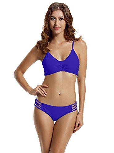 Zeraca Halter Racerback Bikini