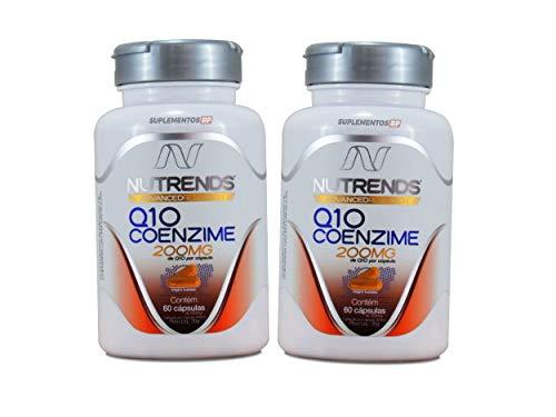 2x Coenzima Q10 - coq10-200mg - 60 Cápsulas/Frasco - Nutrends