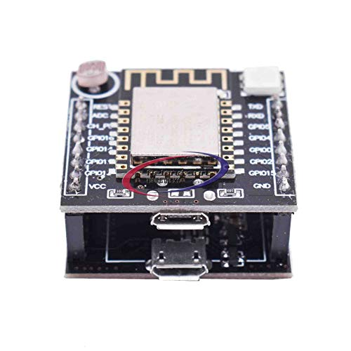 Reland Sun ESP8266 Serial WIFI Witty Cloud Development Board ESP-12F Mini Module USB Web of Things Module