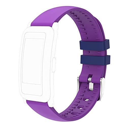 moreFit Ersatzband, Verstellbarer Ersatzriemen Smart Wristbands for Kinder (Lila)