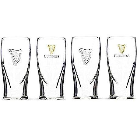 Set of 4 Guinness Signature Pub Edition Pint Glass 20 Ounce Pints