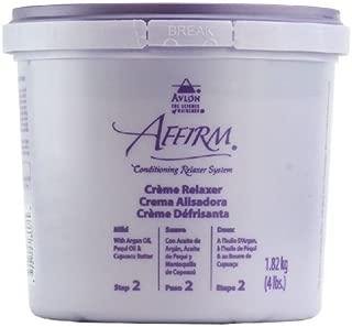 Avlon Affirm Creme Relaxer - 4 lb - Control : Mild (Time Release Sodium Hydroxide)