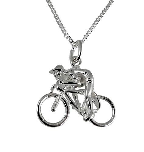 niceandnoble Anhänger Rennradfahrer Bild