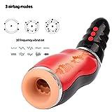 Urnight Dispositivo de para hombres Con voz de mamada y 10 velocidades de 5 velocidades.