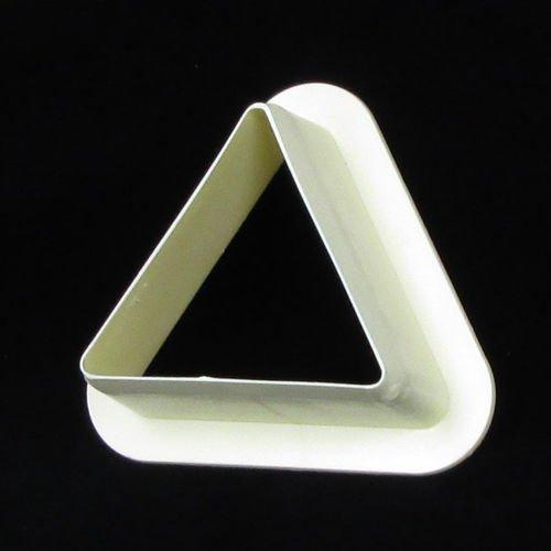 Martellato Plastique Triangle Moule Cutter, 65 x 40 mm, crème