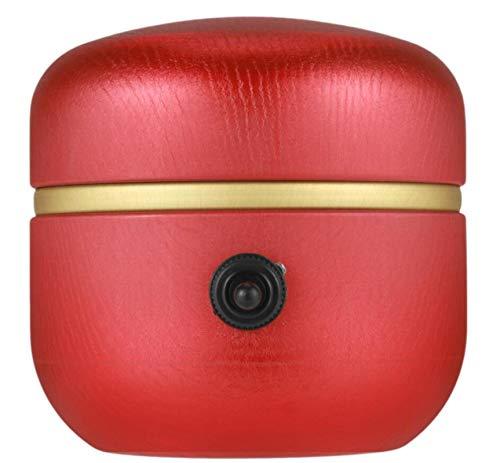 LINYIN Mini Keramik Rad Maschine (1500RPM) Formmaschine mit Tablett für DIY Keramik Arbeit Ton Kunsthandwerk, Palm Größe, Aluminium Plattenspieler