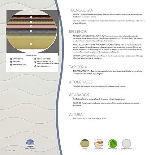 Colchón Flex Visco Supreme 160x190