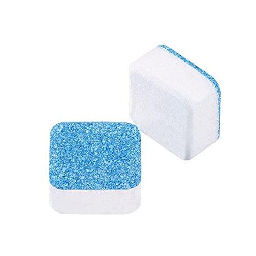 iSinofc Limpiador para Lavadora, 10 Unidades, tabletas para Limpiar Tanques para lavadoras, tabletas efervescentes, Limpiador, desincrustante, Desodorante removedor de Limpieza profundamente eficaz