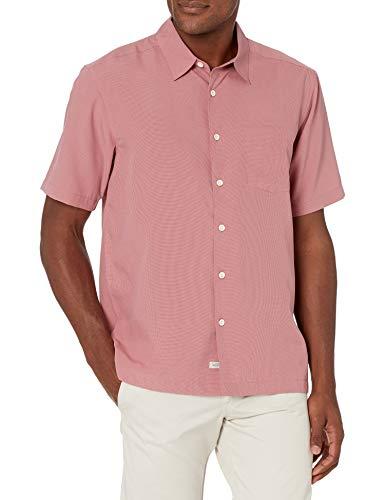 Quiksilver Herren Shirt Hemd mit Button-Down-Kragen, Heather Rose Cane Island Cane Island Cane Island, X-Groß