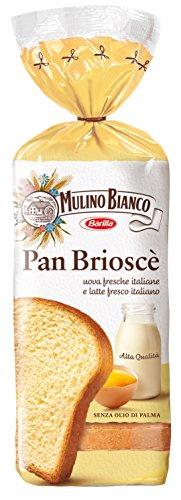 Barlla Mulino bianco Pan Brioscè süßes Brot brioche Toastbrot kuchen Toast 400 g