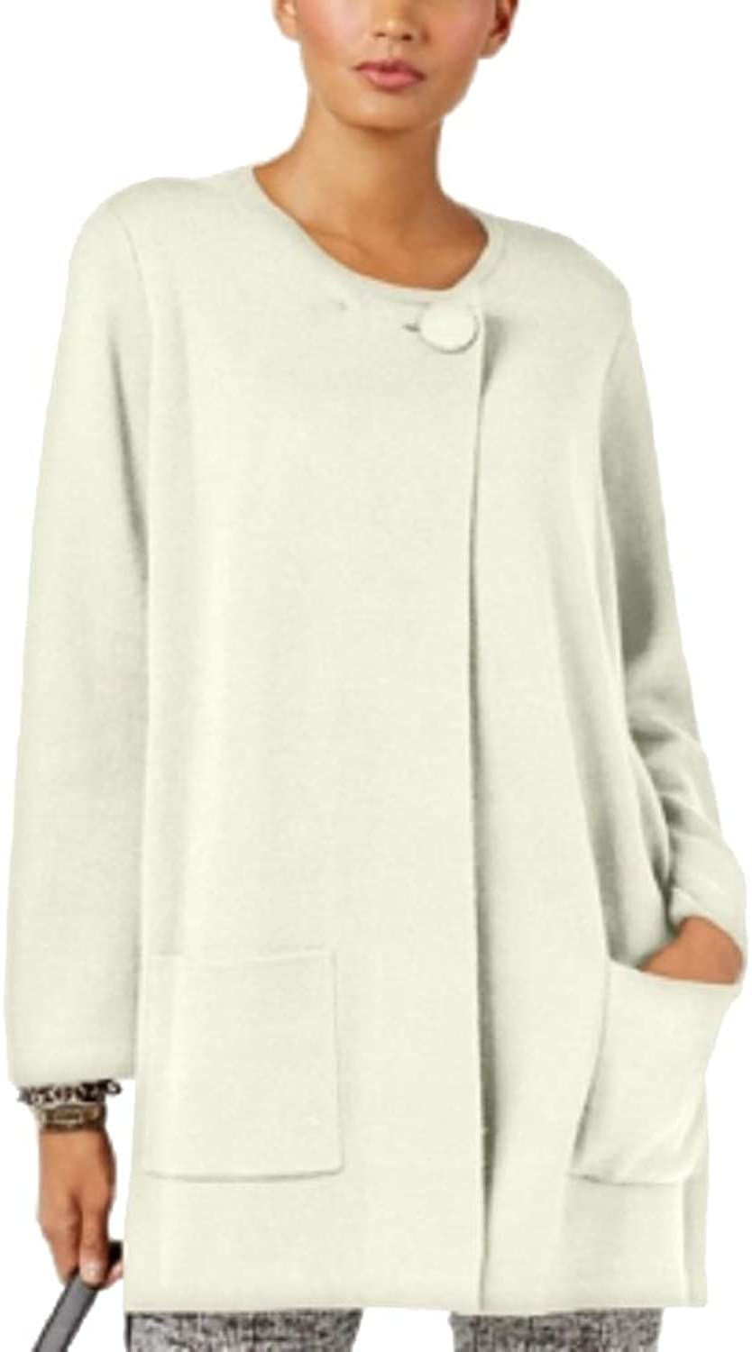 Alfani Womens Tunic Cardigan Sweatercoat
