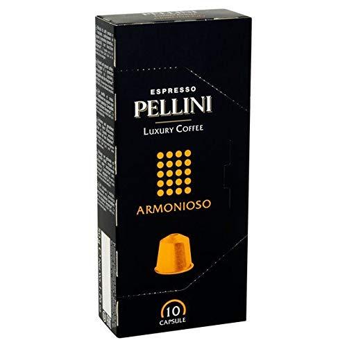 Pellini Lusso Armonioso Caffè Compatibile Capsule Nespresso 10 Per Confezione