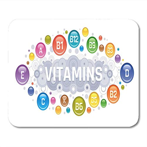 Mouse Pads Acid Multi Vitamin Complex B Group B1 B2 B3 Mouse Pad for notebooks, Desktop Computers mats Office Supplies