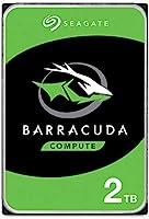 Seagate Barracuda, interne Festplatte 2 TB HDD, 3.5 Zoll, 7200 U/Min, 256 MB Cache, SATA 6 Gb/s, silber, FFP, Modellnr.:...