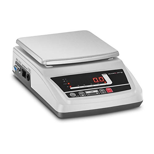 Steinberg Systems Balanza De Precisión Báscula Digital SBS-LW-300001 (Superficie de pesaje: 18 x 16 cm, Precisión: 0,01 g, Rango de pesaje: 0,05 g - 3.000 g)
