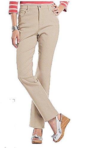 Gloria Vanderbilt Women's Amanda Heritage Fit, Tapered Leg, Classic Rise Jeans (18 Short, Dark Vanilla))