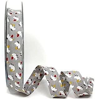 Safisa 100/% algod/ón, 30 mm, 3 m de Longitud Este es un Corte de un Rollo presentado en una Tarjeta de Berties Bows. Cinta al bies en Espiral