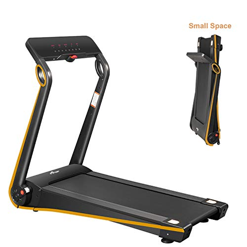 FISUP Foldable Electric Treadmill for Home Office use Exercise Equipment Walking Jogging Silent with APP Easy Assembly
