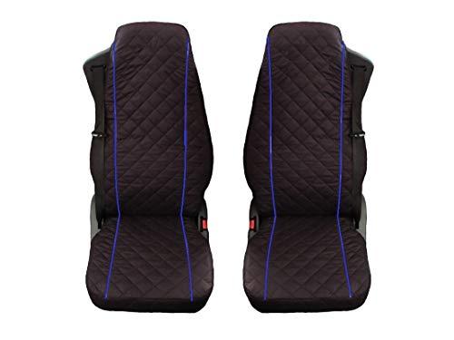 Unknow Sitzbezüge Passend für LKW Volvo FL;FE;FM;FH12;FH16/FH4 Nacht 2014 Blaue Beats