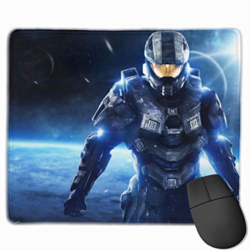deborah saddsdr H-Alo Print Gaming Mouse Pads Personalized Overhand Computer Mouse Mat Wrist Pad 10' X 12' Gamepad