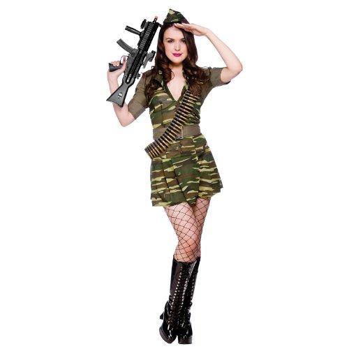 Deguisement Adulte Soldat Seductrice XL