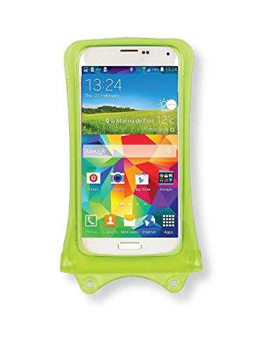 Allview E3 Living, E4, E4 Lite, P5 eMagic Handyhülle/Handytasche - wasserdicht - Grün (Doppel-Klettverschluss, IPX8-Zertifizierung zum Schutz vor Wasser bis 10 m Tiefe)