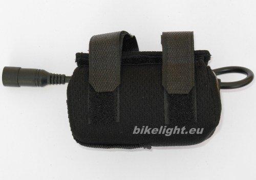 Ersatz Akku 4,4Ah + Tasche für Magicshine.eu MJ-808, MJ-816/bikelight.eu 900 für LED Lampen