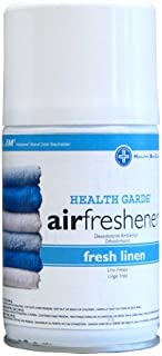 Hospeco Health Gards 07918 Fresh Linen Metered Aerosol Air Freshener, 7 oz Can (Case of 12)