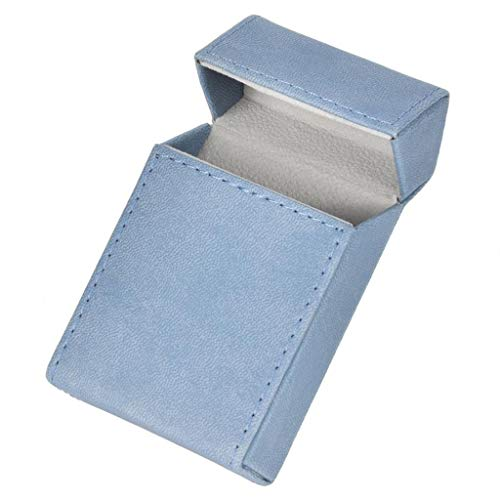 ZYING Estuche de Cigarrillos de Estilo Elegante, Soporte de Tabaco, Caja de Cigarrillos portátil, contenedor de protección de Almacenamiento para Cigarrillos de 20 Piezas (Color : B)