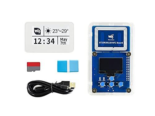 HEQIE-YONGP Pantalla de Tinta e- Kit de evaluación E-Paper E-Paper E-Powered Passive Passive, Powering Wireless y Transferencia de Datos, Sin batería para Bricolaje
