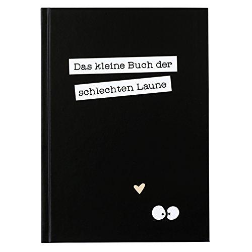 Odernichtoderdoch Notizbuch | Das kleine Buch der schlechten Laune | schwarz - Hardcover - 32 Seiten