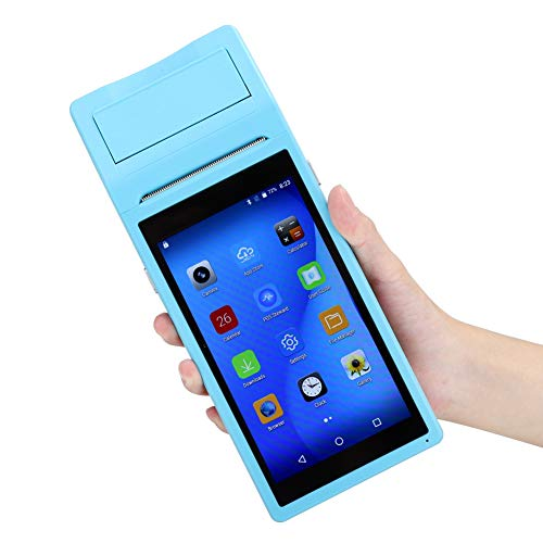 Changor Mini Impresora, Tarjeta de Memoria de Tinta instantánea multifunción Ayuda 0.8W (Azul)