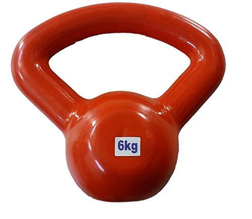 Kettlebell - 6 kg - Revestido em P.V.C - Slade Fitness