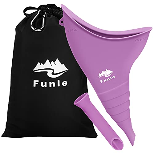 Female Urination Device, Portable Female Urinal for Women Stand to Pee with Ease, Reusable Pee Funnel for Women, Great for Travel Camping Outdoor Activities…