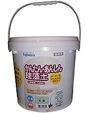 フジワラ化学 内装調湿性仕上塗材 かんたんあんしん珪藻土 ワカバ 10kg