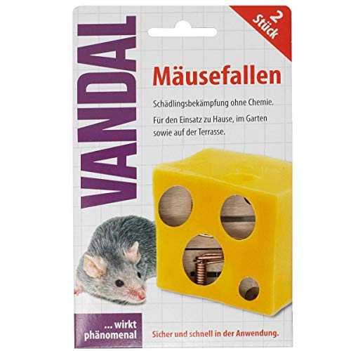 VANDAL Mäusefallen 2 STK.